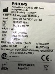 Philips X-Ray Tube
